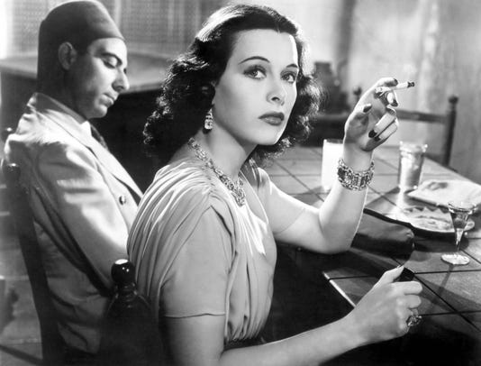 Algiers Joseph Calleia Hedy Lamarr 1938