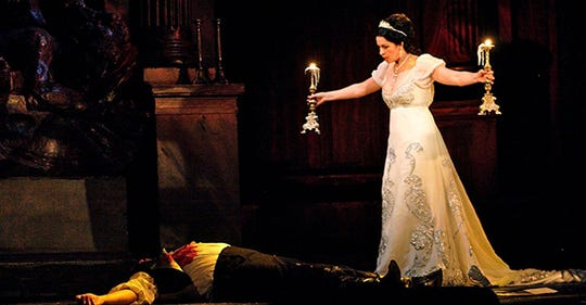 """A filmed version of """"Tosca"""" plays Sunday afternoon at All Saints Cinema."""