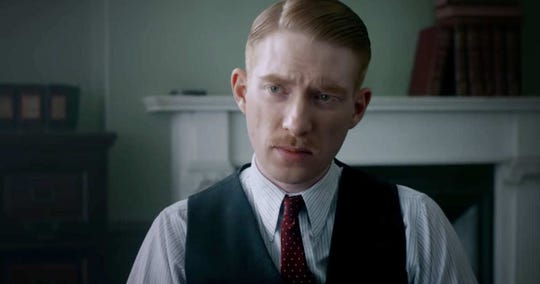 "Domhnall Gleason stars in the scary movie ""The Little Stranger,"" opening Friday."