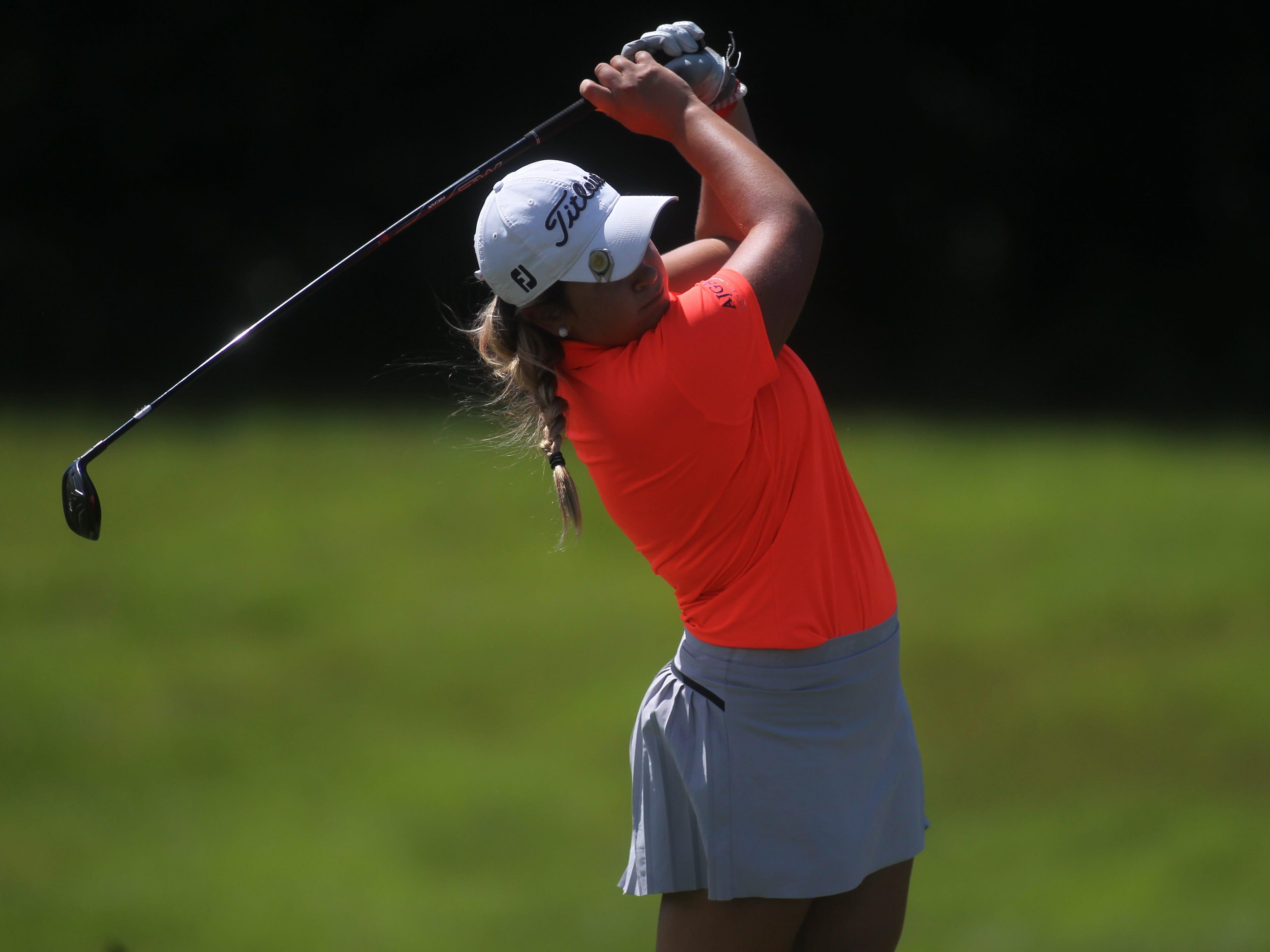 Aucilla Christian senior Megan Schofill plays a round Monday at Southwood Golf Club.