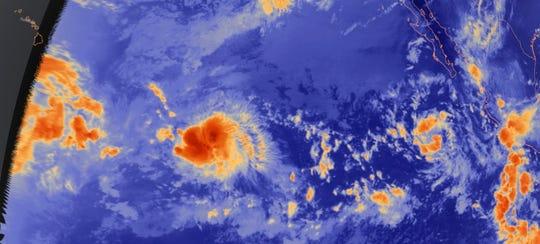 Pacific radar image Aug. 28, 2018