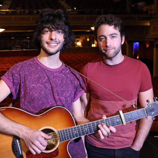 Rockland raised brothers Zach Page, left, and Josh Page, the singer-songwriters known as Brothers Page, recently reached a million followers for their account @brothers.page on Instagram. They are photographed at Tarrytown Music Hall Aug. 27, 2018.
