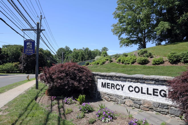 The Mercy College in Dobbs Ferry is accusing one of its former deans with stealing it's most promising students.