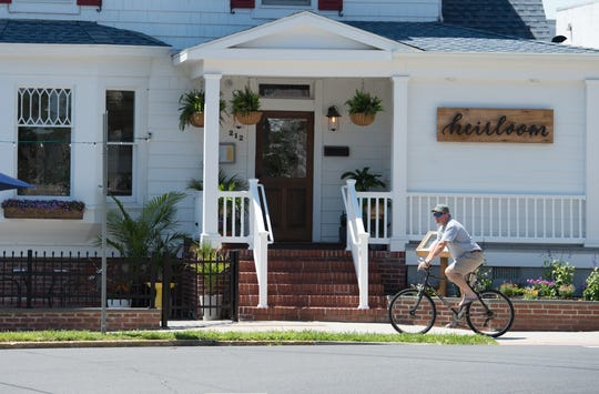 Heirloom in Lewes, located in a renovated Victorian house with a modern approach, dates back to 1899. It's considered one of Delaware's best restaurants. Owner Meghan Lee sometimes disputes allegedly inaccurate information about her restaurant on Yelp.