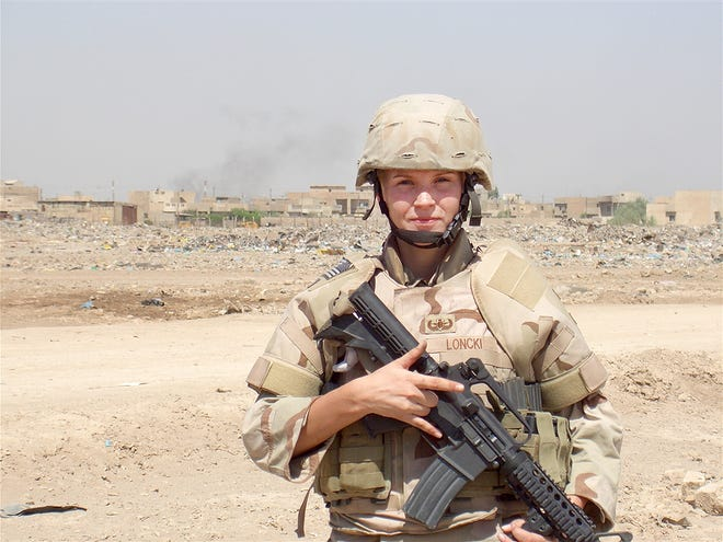Senior Airman Elizabeth Loncki died after her explosive ordnance disposal team was targeted by a car bomber near Baghdad, Iraq, in 2007. The bridge over Del. 1 connecting the main gate of Dover Air Force Base and base housing will be named in the Delaware native's honor.