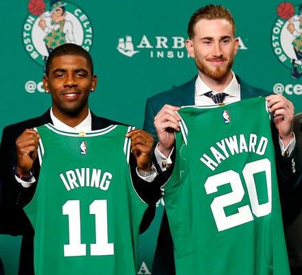 Ap Celtics New Additions Basketball S Bkn Usa Ma