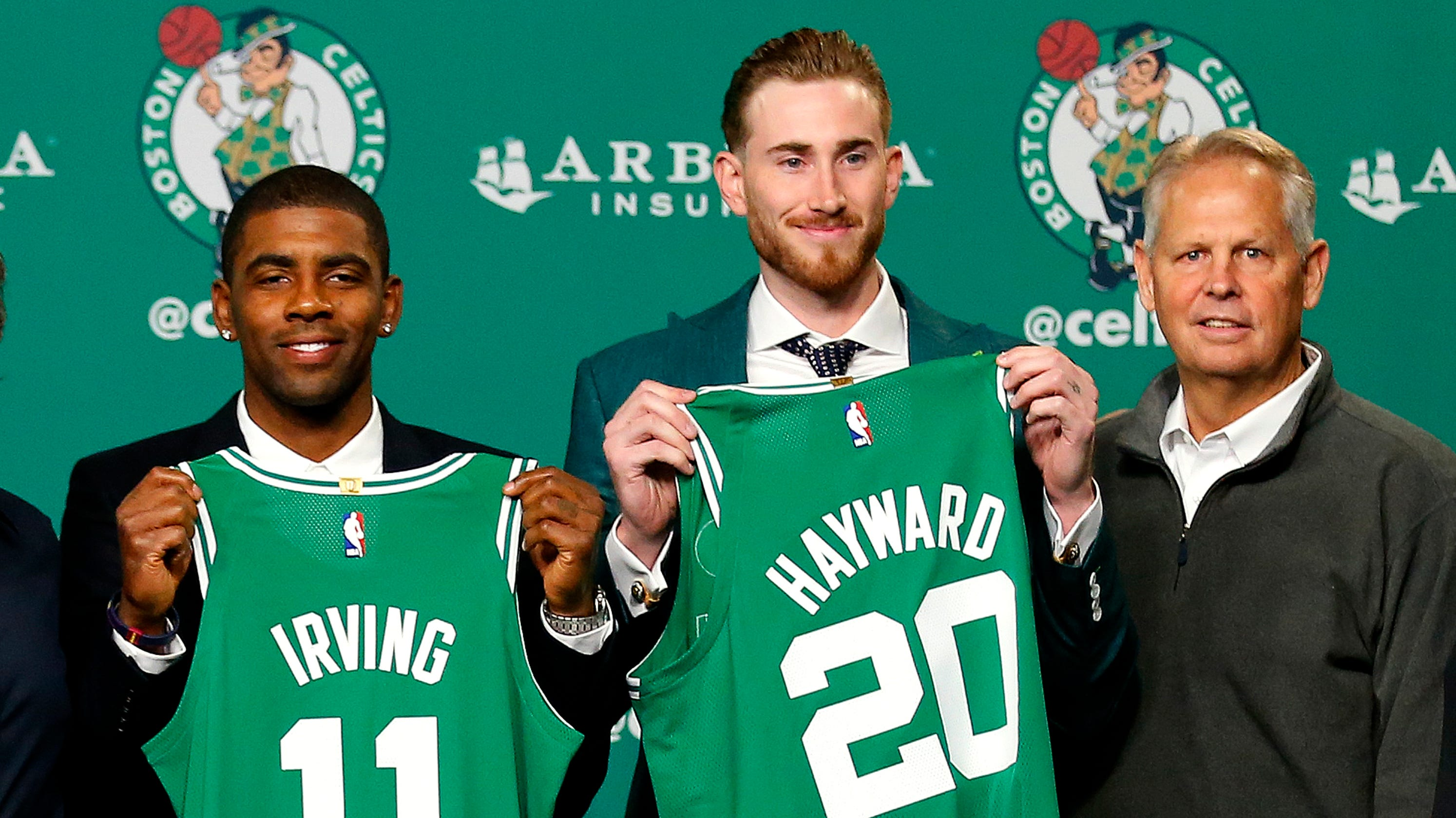 Boston Celtics' Kyrie Irving, Gordon Hayward would be 'full speed' if camp opened today