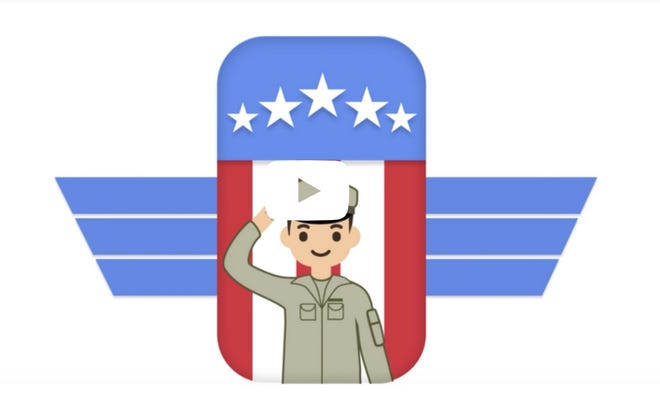 Google has some new job search tools for military veterans that make it easier for them to find civilian jobs fitting the skills they had in the military.