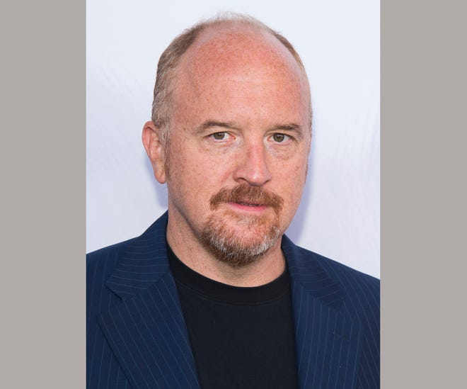 Comedian Louis C.K., photographed in 2016, reportedly returned to the stage for the first time since being hit with accusations of sexual misconduct in November.