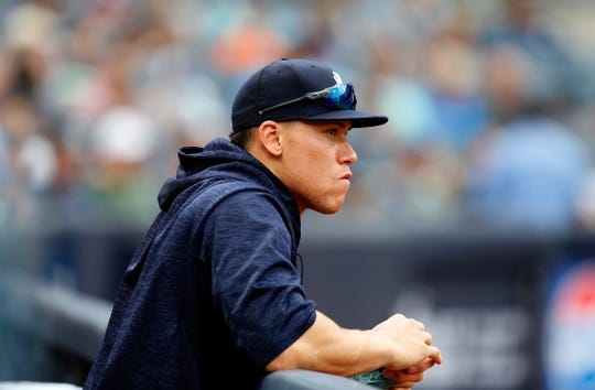 The last time Aaron Judge was in the Yankees lineup was July 26.