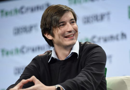NEW YORK, NY - MAY 10:  Co-founder and co-CEO of Robinhood Vladimir Tenev speaks onstage during TechCrunch Disrupt NY 2016 at Brooklyn Cruise Terminal on May 10, 2016 in New York City.  (Photo by Noam Galai/Getty Images for TechCrunch) ORG XMIT: 636431935 [Via MerlinFTP Drop]