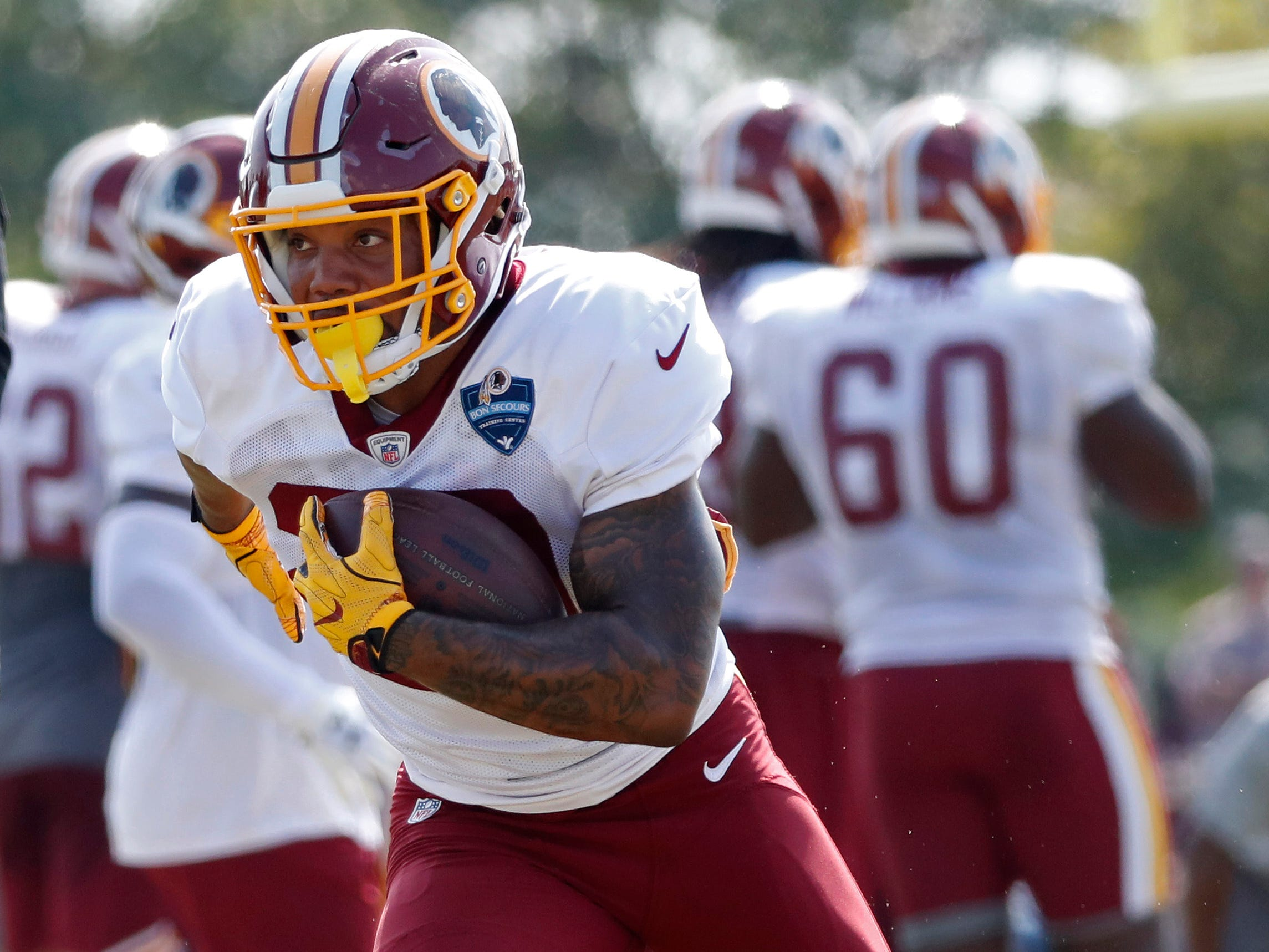 Derrius Guice, RB, Washington Redskins (torn ACL, out for season)