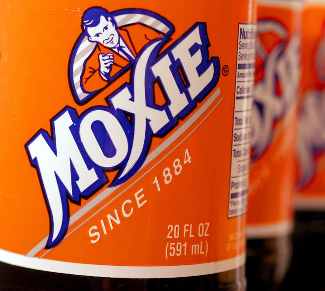 In this May 27, 2005 file photo, bottles of the soft drink Moxie are pictured in West Bath, Maine. Soft drink giant Coca-Cola said Tuesday, Aug. 28, 2018, it is acquiring Moxie, a beloved New England soda brand that is the official state beverage of Maine. (AP Photo/Pat Wellenbach, File)