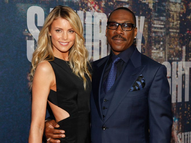 Eddie Murphy and Paige Butcher, in New York in 2015, are expecting, according to reports.