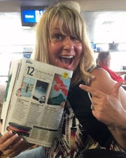 Crystal Patriarche celebrates getting a client's book featured recently in People magazine.