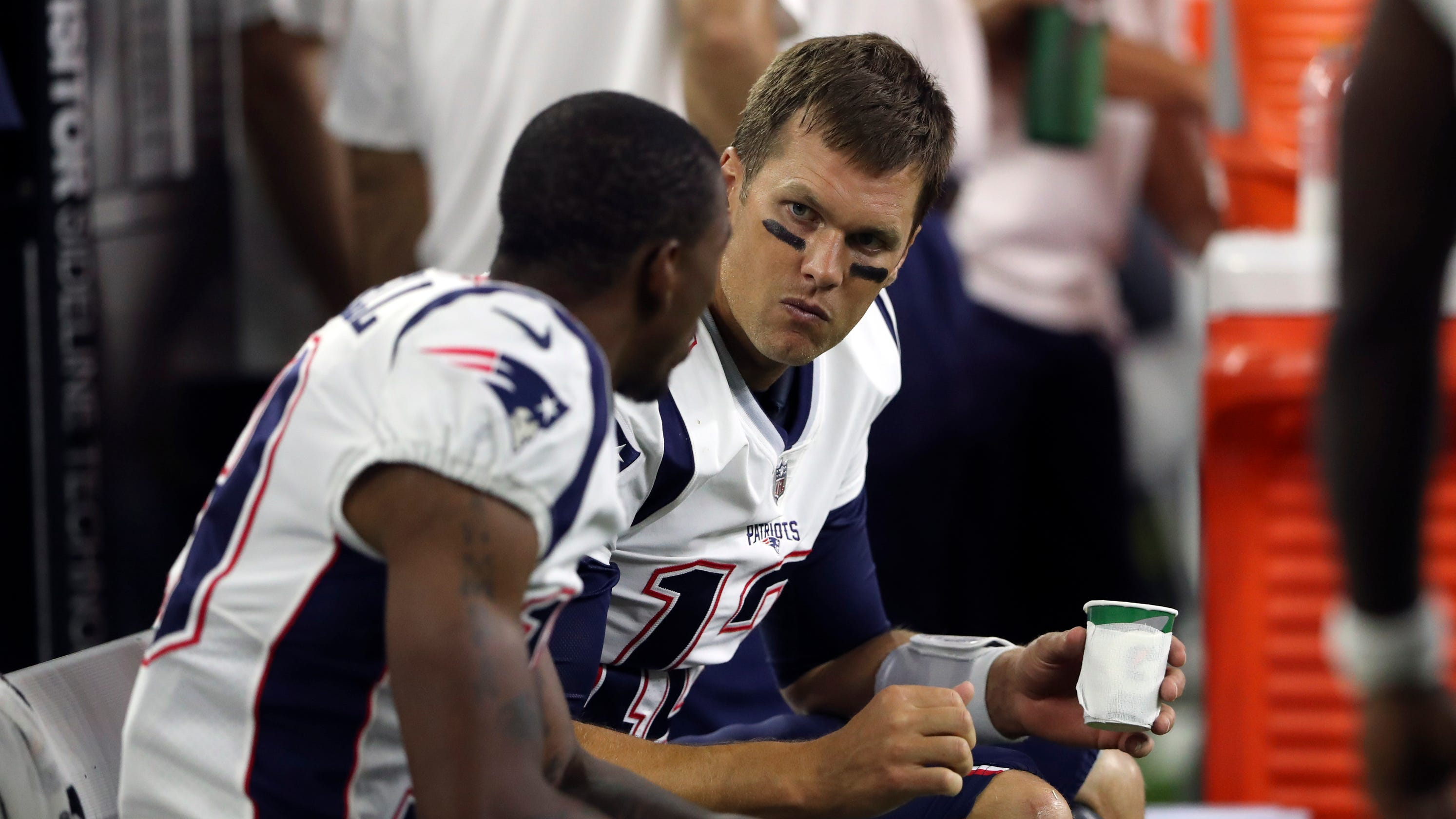 00f7d1146 Tom Brady   Certain things haven t worked out  with Patriots WRs