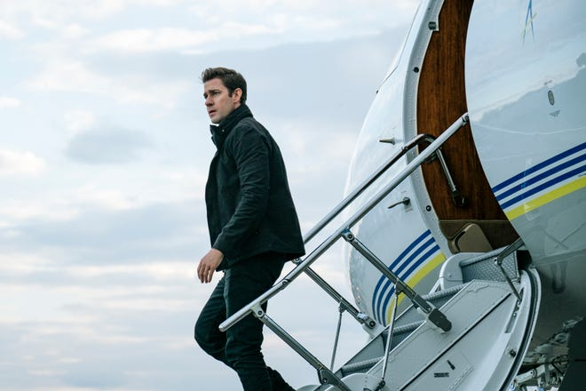 """John Krasinski takes on an iconic role in """"Tom Clancy's Jack Ryan,"""" available Aug. 31, 2018 on Amazon."""