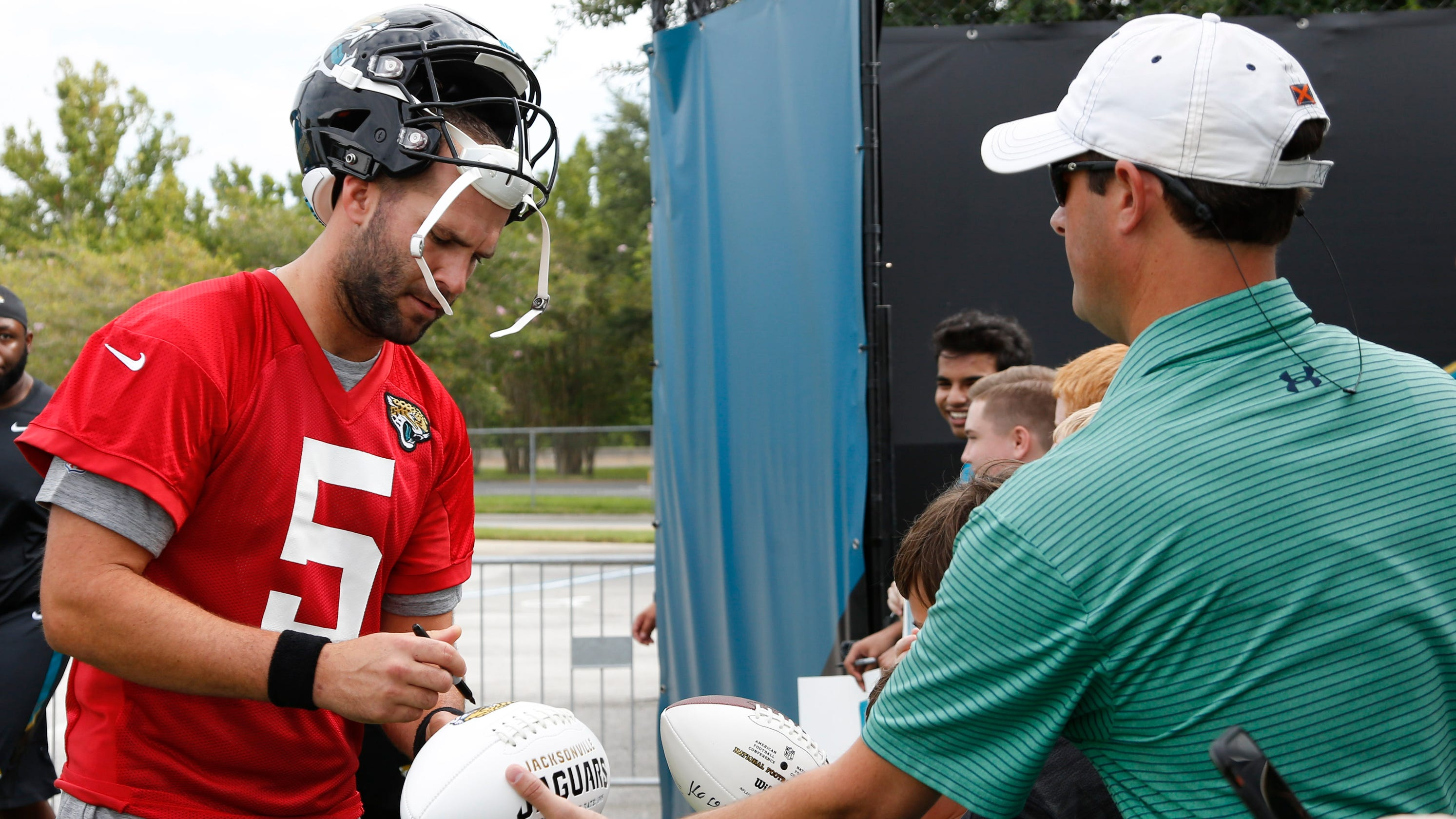 80a9f4654 Jaguars  Blake Bortles buys meals for Jacksonville first responders  following  Madden  shooting
