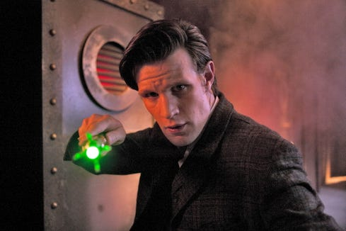 """Matt Smith earned sci-fi geek cred from his role as The Doctor on """"Doctor Who."""""""