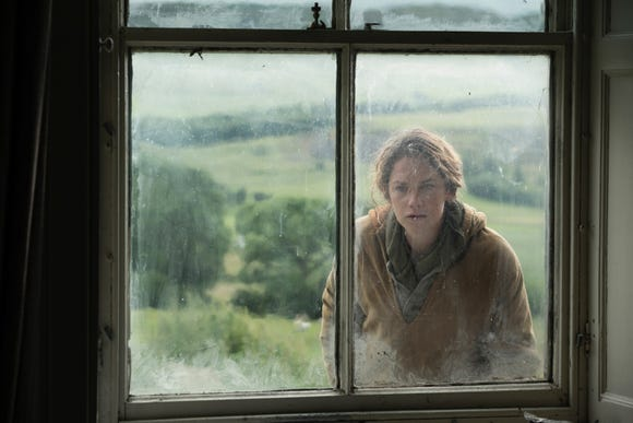 "Alice Bell (Ruth Wilson) faces demons from her childhood when she returns to her family farm in the British drama ""Dark River."""