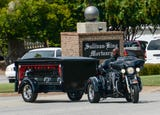 Many ride to funeral for Harley Davidson worker Sarah Wilson