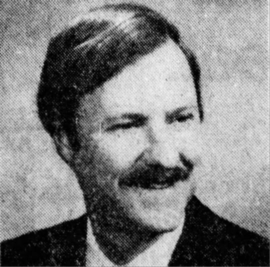 Pine Beach Mayor John C. Bartlett Jr. in 1979, when he was a first-time candidate for Ocean County freeholder.