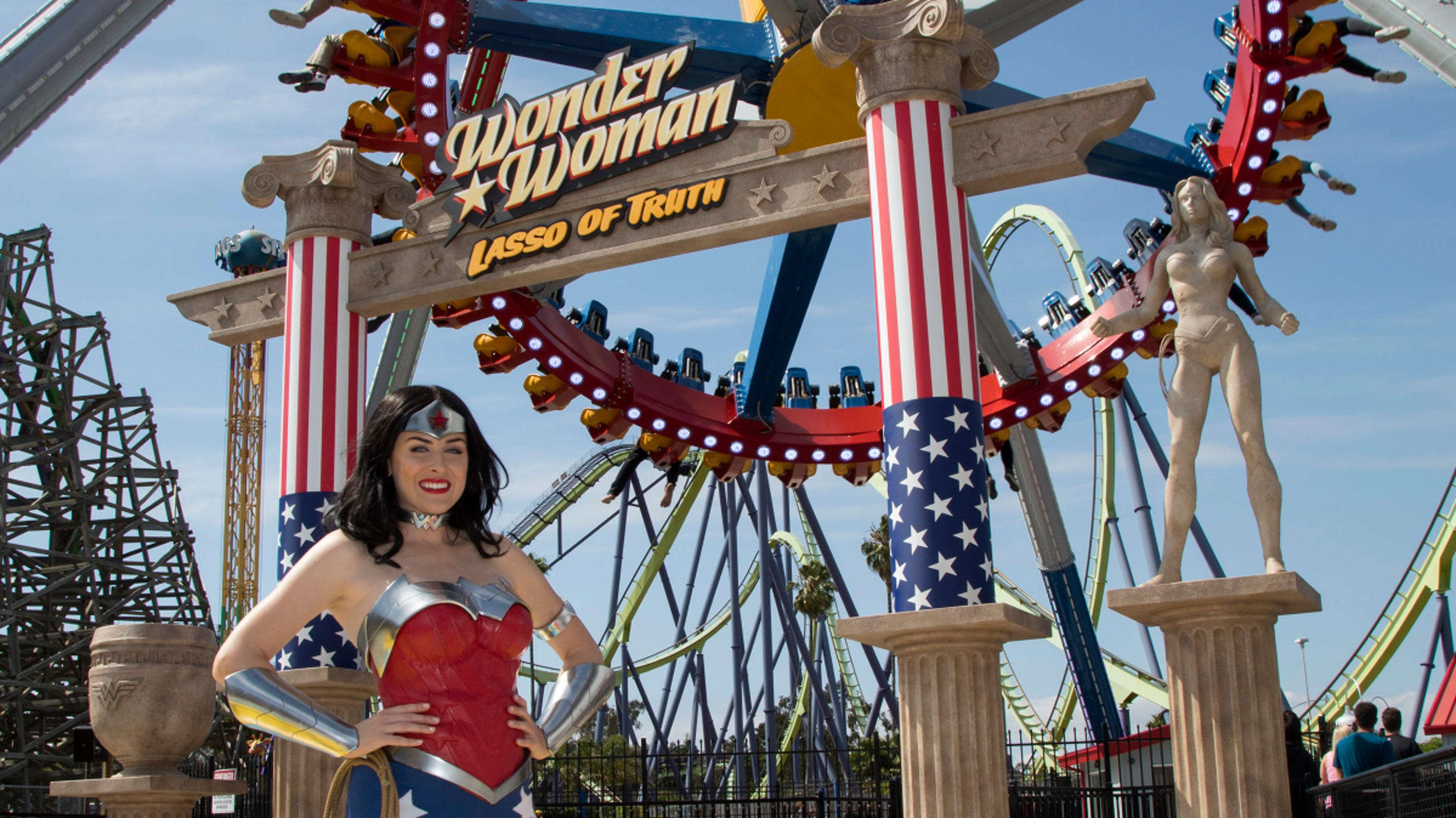 Wonder Woman ride takes flight at Six Flags Great Adventure