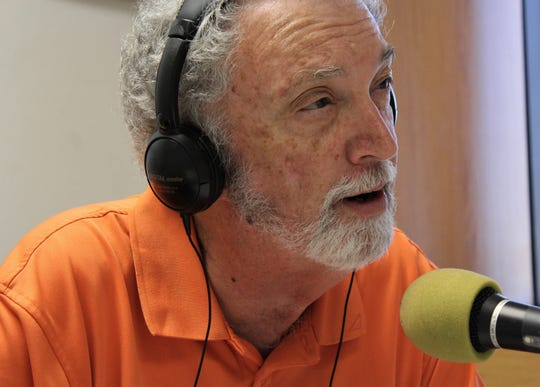 """Radio broadcaster Al Pickett on the air during his afternoon sports talk show, Let's Talk Sports."""" He'll continue that duty but this fall, he won't be part of the Abilene High broadcast team for the first time in 15 years."""