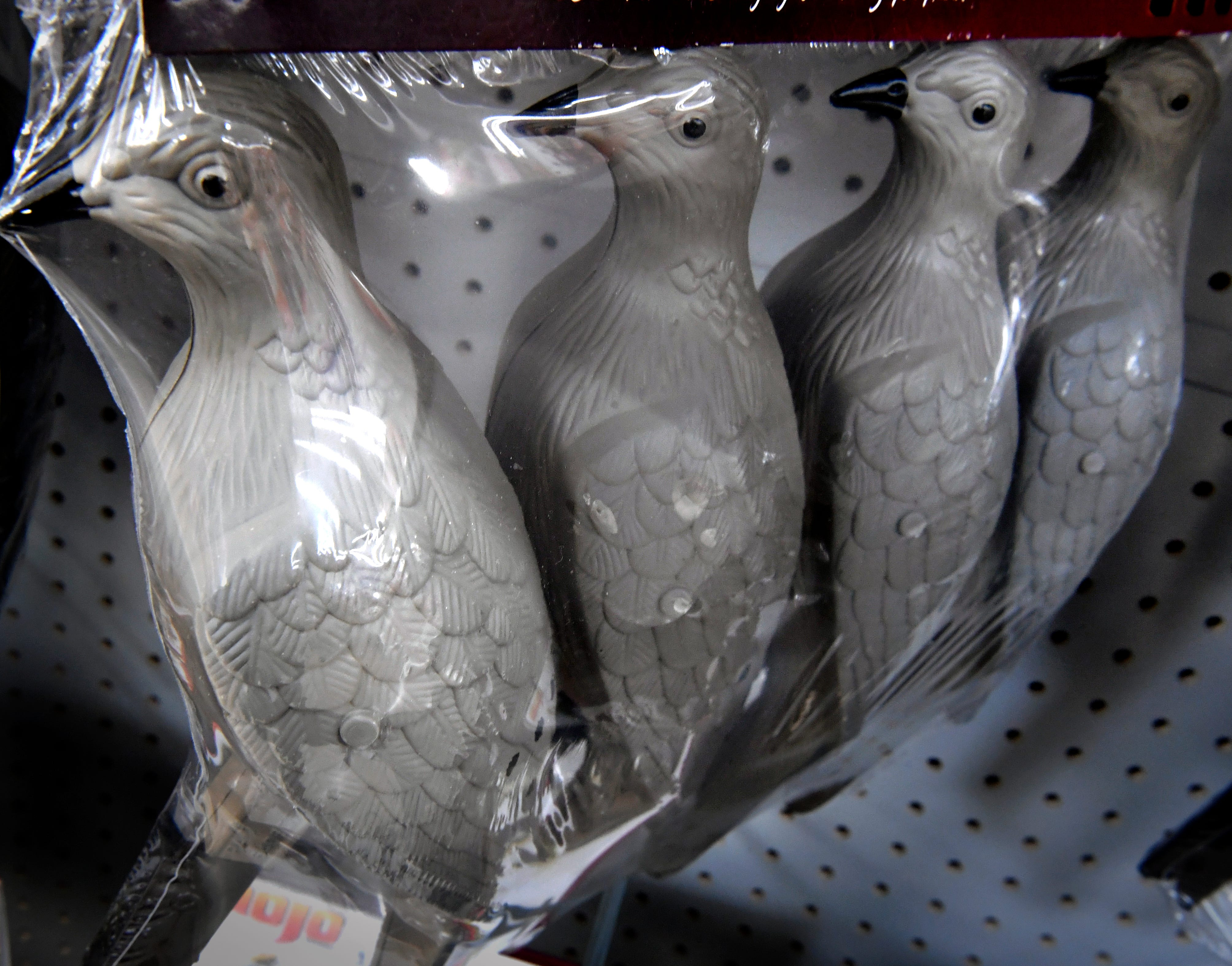 Dove decoys on sale at Academy Sports and Outdoors Wednesday.