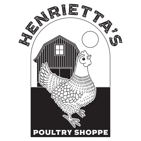 The logo for the forthcoming Henrietta's Poultry Shoppe.