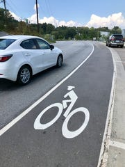 Bicycle lanes are considered official travel lanes under North Carolina law.