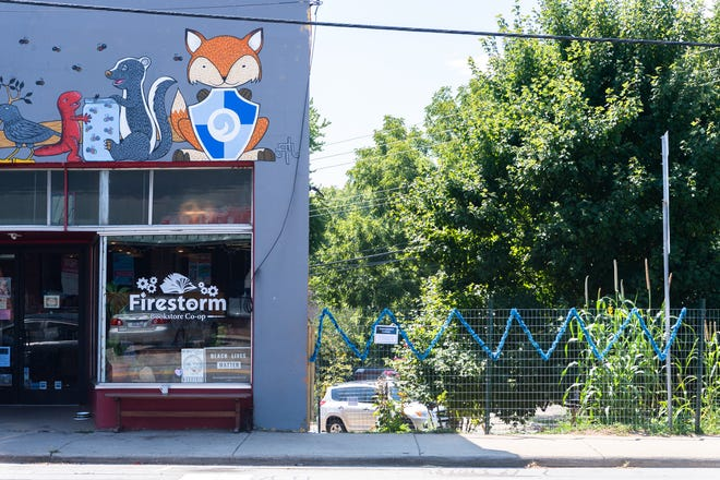 Firestorm Bookstore on Haywood Avenue in West Asheville.