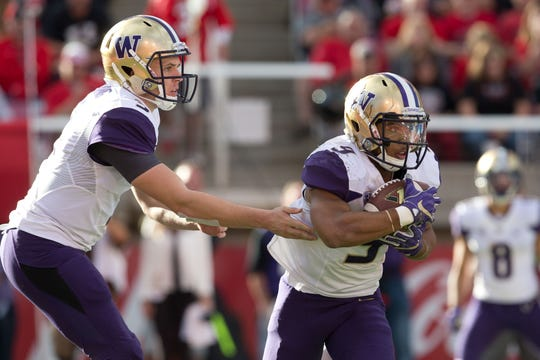 Quarterback Jake Browning and running back Myles Gaskin are both entering the fourth year as starters for the Huskies, but the two haven't always seen eye to eye off the field.