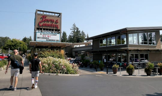 The Town & County Market on Bainbridge Island is now offering self-checkout machines.