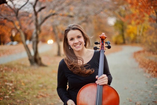 Vermont cellist Emily Taubl takes part in four mini-concerts presented by Scrag Mountain Music.