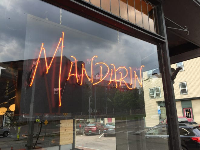 Mandarin restaurant opened officially Tuesday in downtown Winooski.