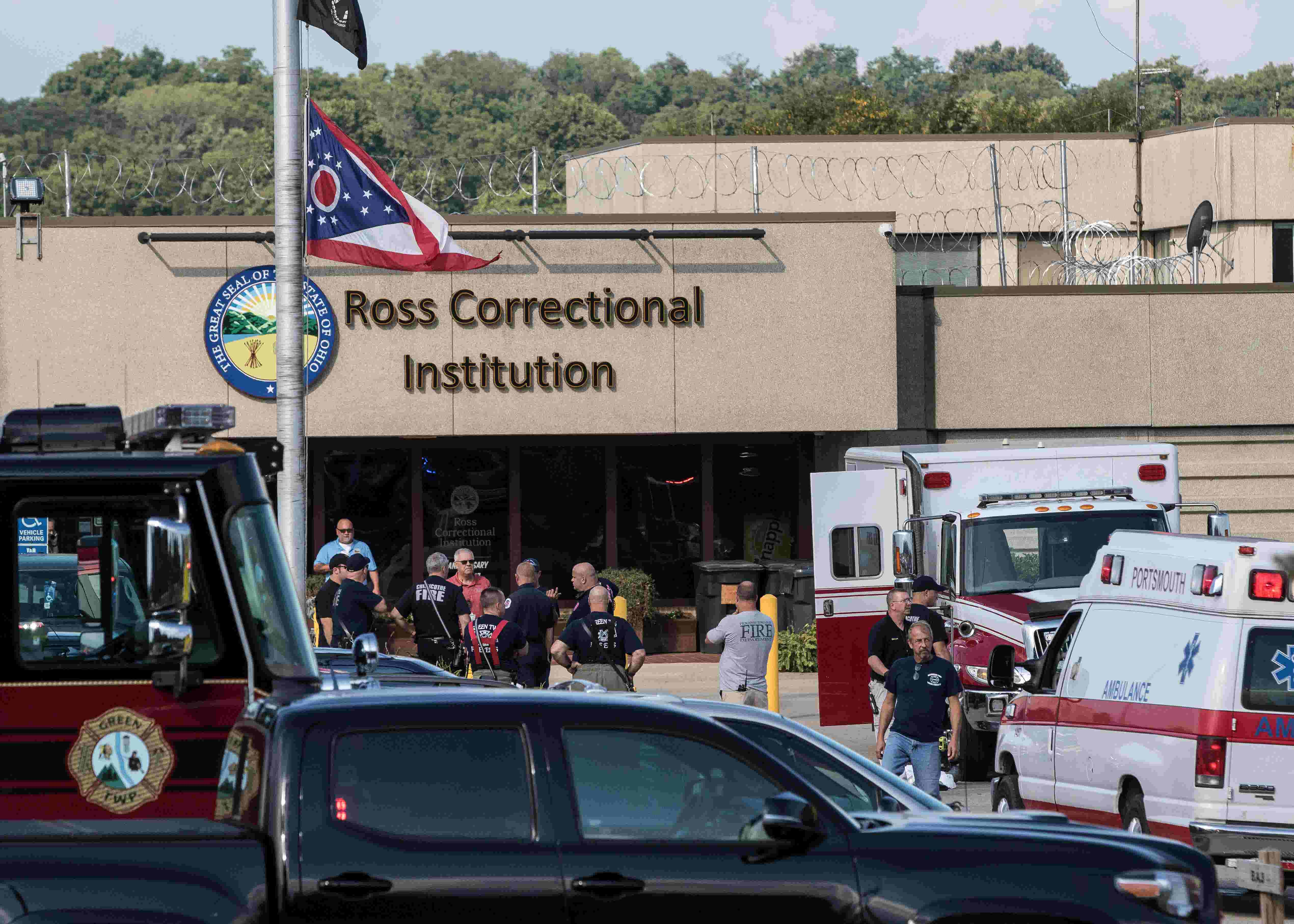 Ross Correctional Institution: Helicopter lands during overdose  investigation