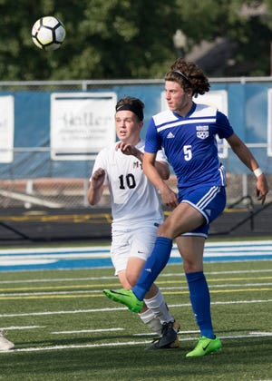 The Frontier Athletic Conference named Chillicothe boys soccer's Matthew Detty their 2018 player of the year.