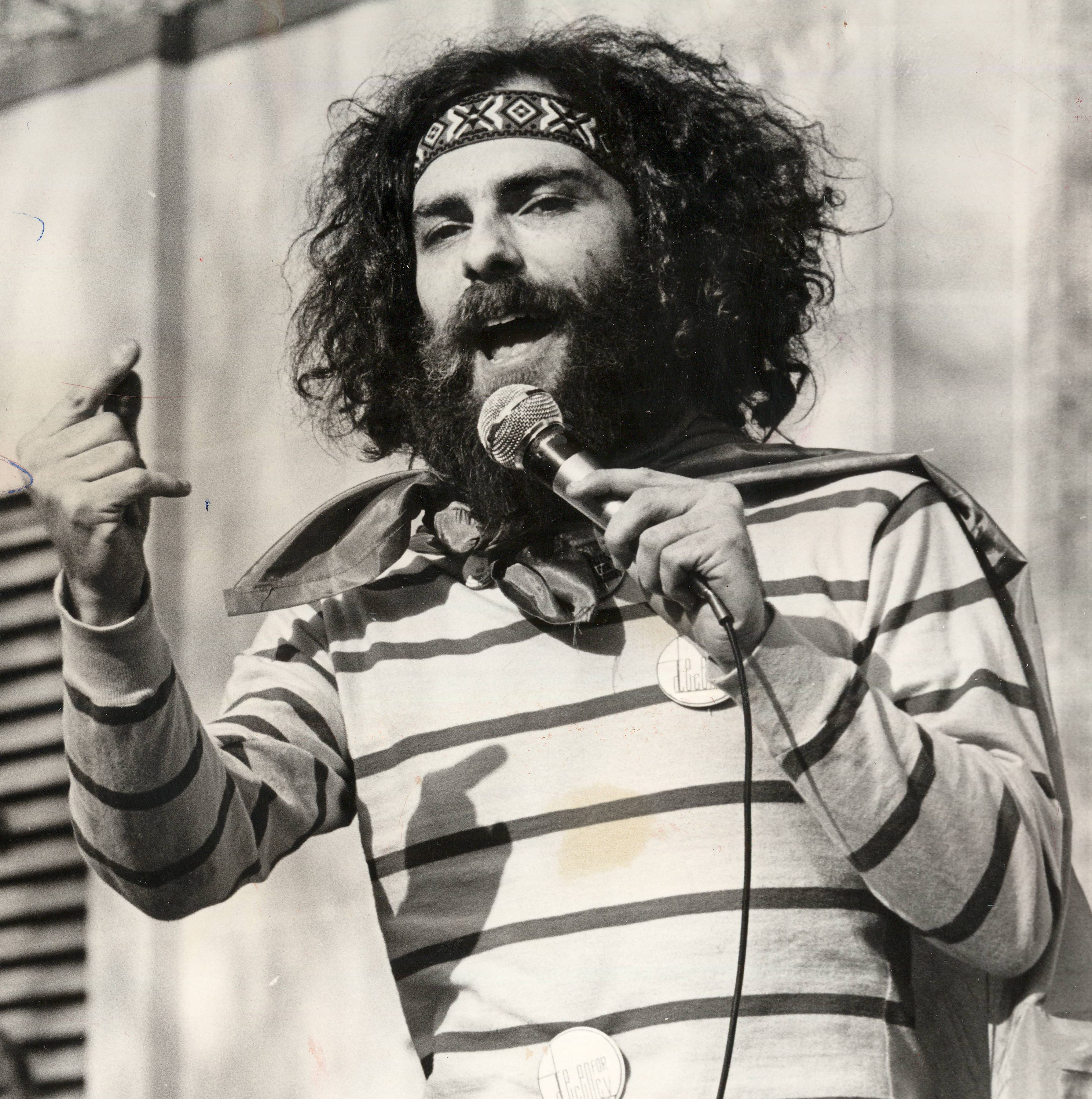 Our history: 1960s radical Jerry Rubin was a showman