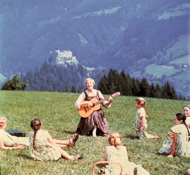 Experience The Sound of Music on the big screen at seven Cincinnati-area cinemas Sept. 9 and 12.