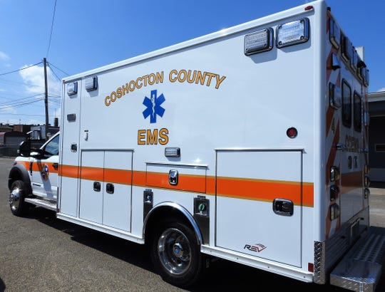 Coshocton County Emergency Medical Services ambulance