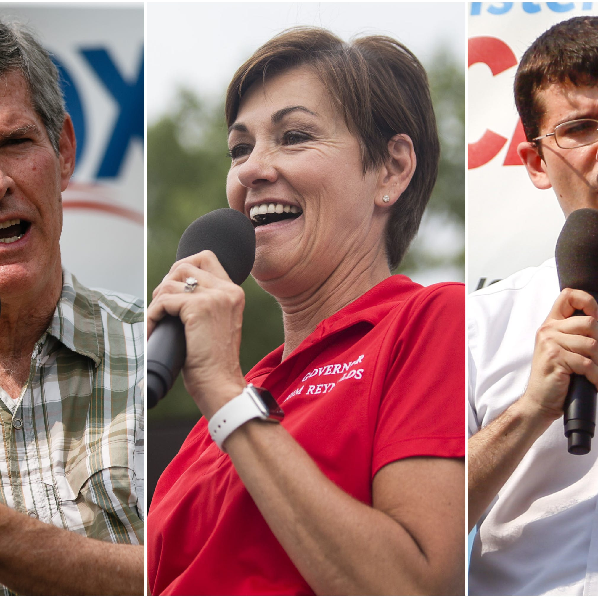Fueled in part by his own contributions, Democrat Hubbell outraises Republican Reynolds in governor's race
