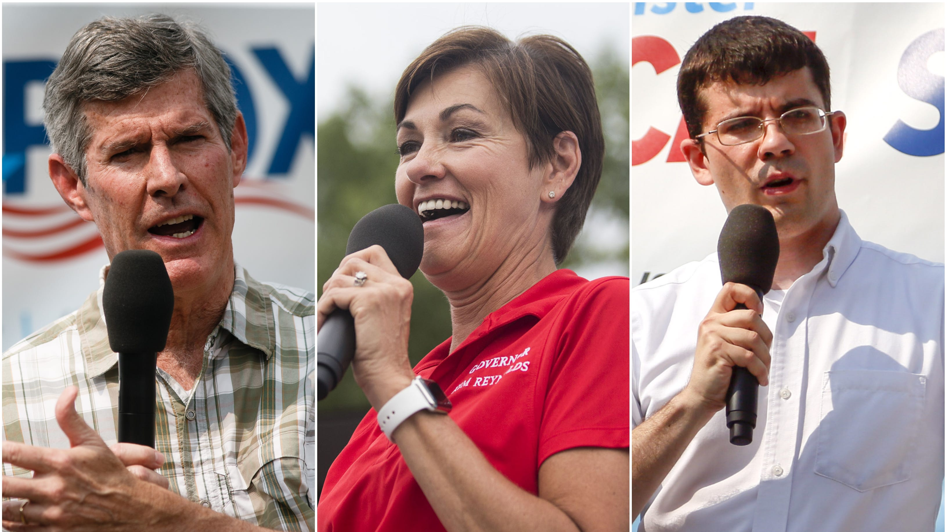 Iowa Poll: Democrat Fred Hubbell narrowly leads Republican Kim Reynolds in governor's race
