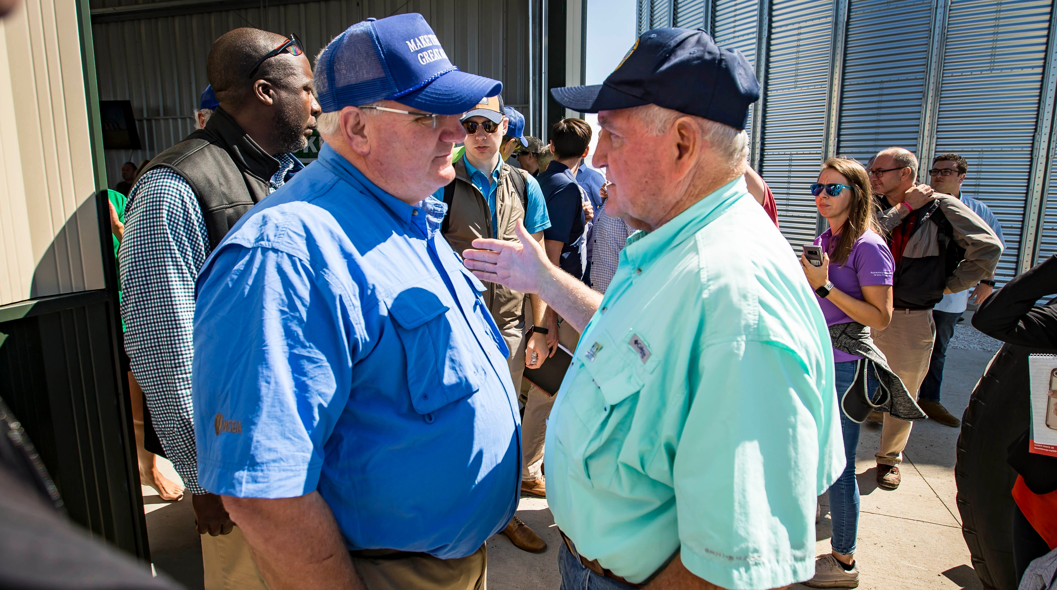 Sonny Perdue takes a turn as editor at a time when his boss derides the media as 'fake news'