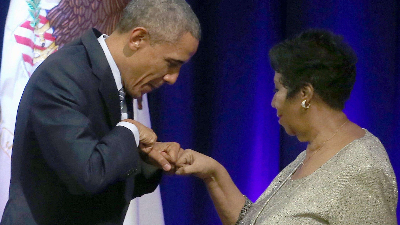 Barack Obama won\'t be at Aretha Franklin funeral