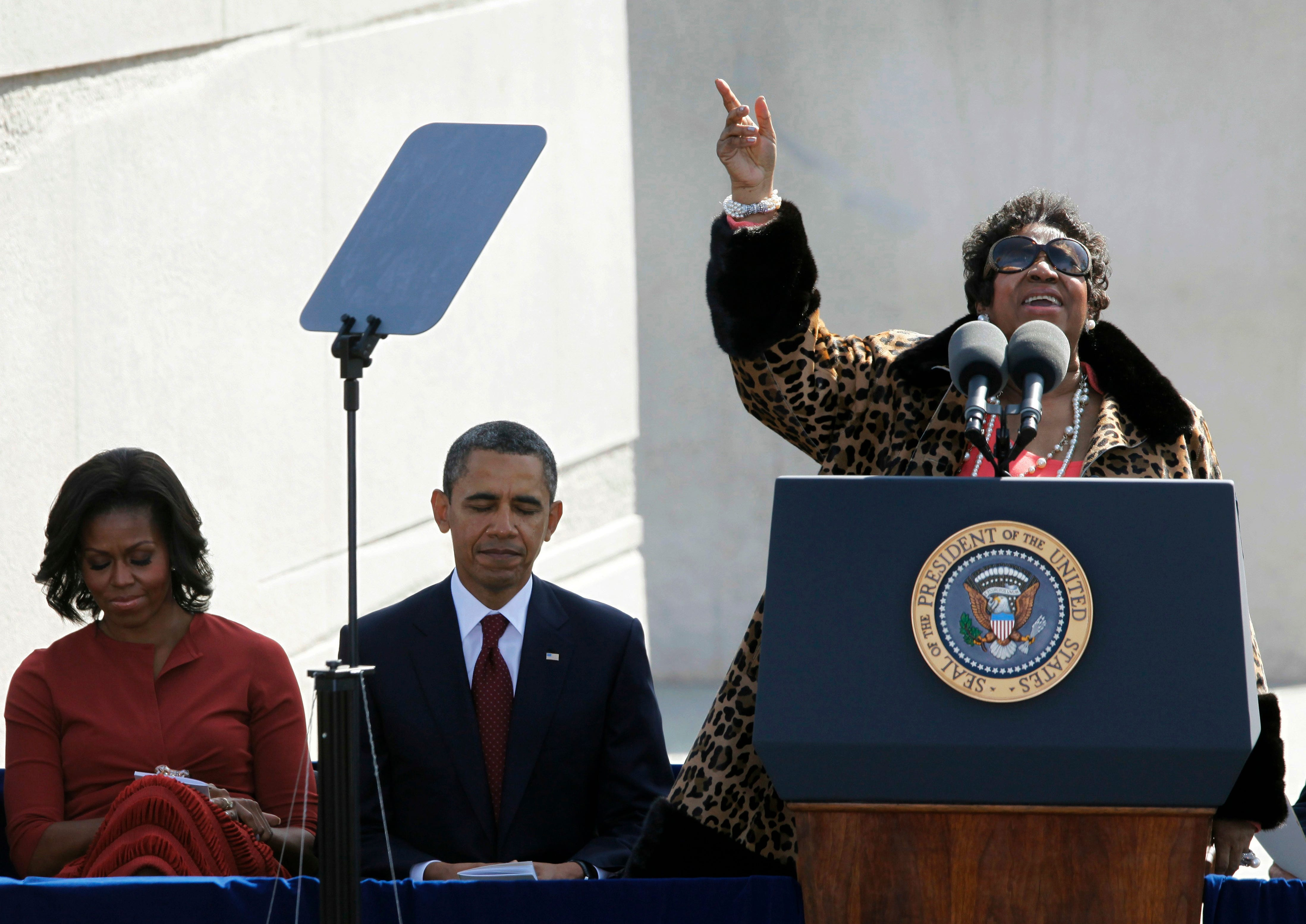 Obama Has Nothing But R-S-P-E-C-T For Aretha Franklin