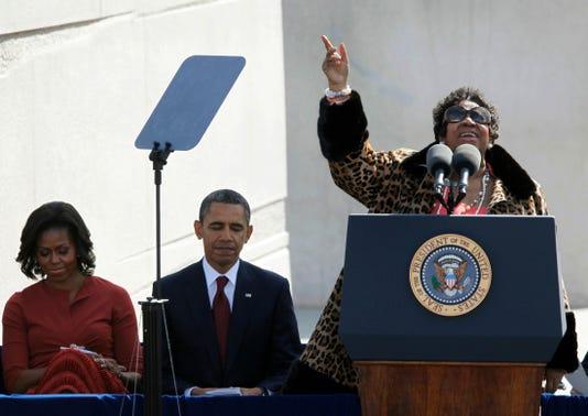 Barack Obama Aretha Franklin Michelle Obama