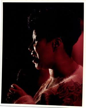 Undated photo of Aretha Franklin