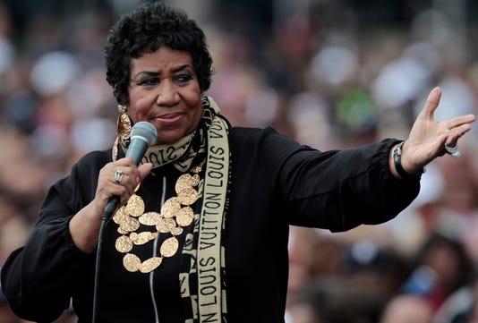 Aretha Franklin Died Detroit Usa 05 Sep 2011