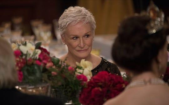"Glenn Close in ""The Wife."""